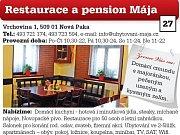 Restaurace a pension Mája