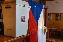 Příprava voleb v hospodě U Náhona v hradeckých Svobodných Dvorech.