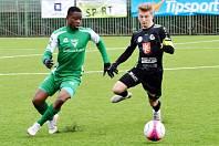 Zimní fotbalová Tipsport liga: Hradec Králové - Vlašim.