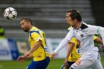 Fotbalová národní liga: FC Hradec Králové - FC Fastav Zlín.