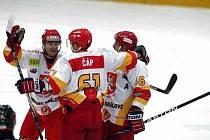 I. hokejová liga: HC VCES Hradec Králové - IHC Komterm Písek.