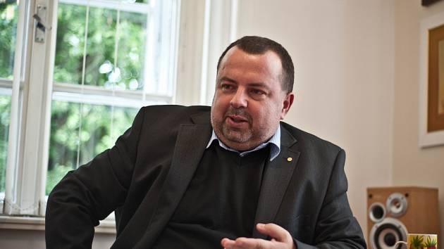 Pavel Horák, ředitel Českého chlapeckého sboru Boni pueri Hradec Králové.