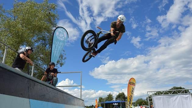 Evropská BMX elita! U OC Futurum se konají závody s mezinárodní účastí.