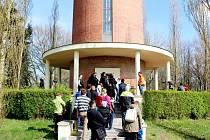 Den otevřených dveří ve věžovém vodojemu na Novém Hradci Králové.