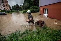 Povodně na Královéhradecku