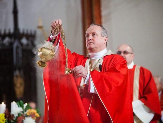 Oslavy 350 let biskupství v Hradci Králové.