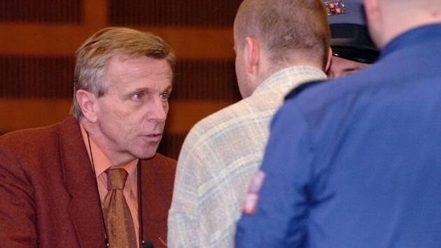 Otec Bohuslav Zelenka hovoří se svým synem