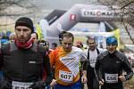 Winter Run v okolí Biřičky v Hradci Králové.