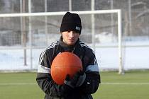 Příprava 'votroků' je zahájena. Prvoligoví fotbalisté Hradce absolvovali úvodní trénink v novém roce.