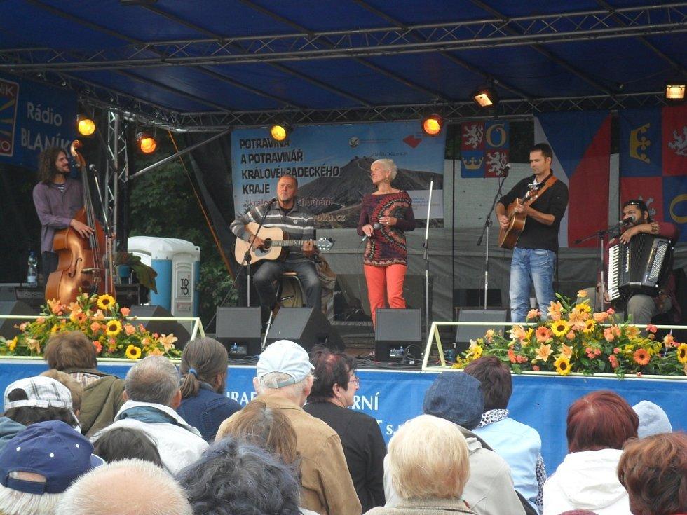 Nechyběly ani koncerty a vystoupení - v tomto případě kapela Plavci.