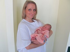 IZABELA SCHIRLO vykoukla na svět 2. srpna v 7.15 hodin. Měřila 48 centimetrů a vážila 3100 gramů. Z holčičky se těší maminka Helena, tatínek Daniel a tříletý bráška Hynek. Rodina bydlí v Hradci.