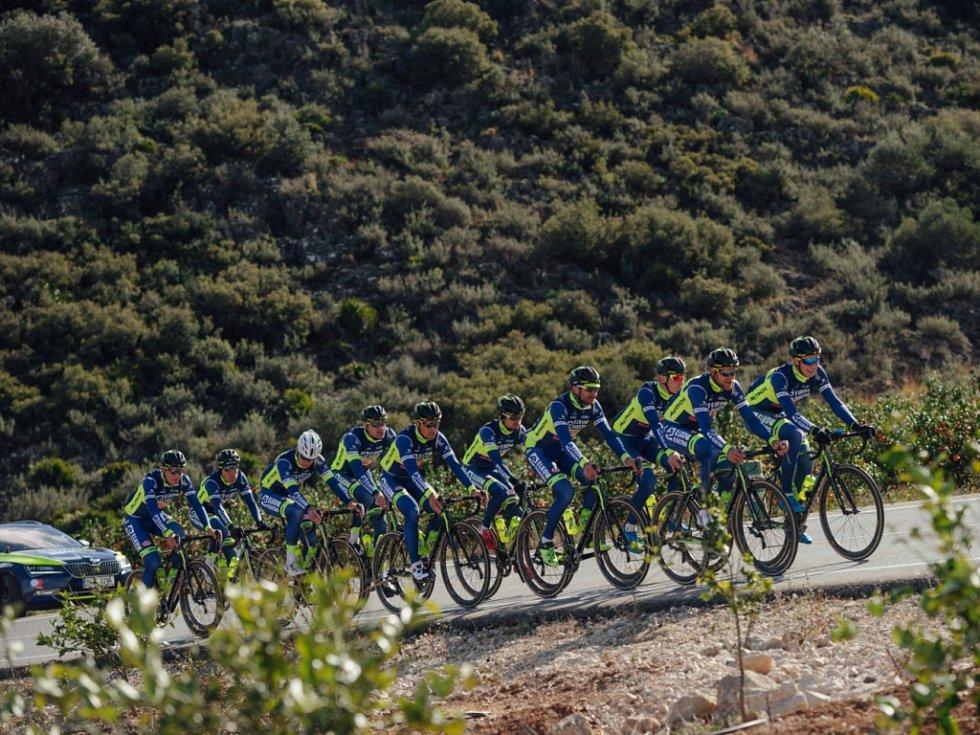 Pohoda v týmu je i v náročné přípravě na novou závodní sezonu.