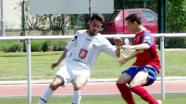 Fotbalová I. liga staršího dorostu U19: FC Hradec Králové - FC Zbrojovka Brno.