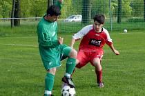 Krajská fotbalová I. A třída: TJ Start ZD Ohnišov - SK Bystřian Kunčice.