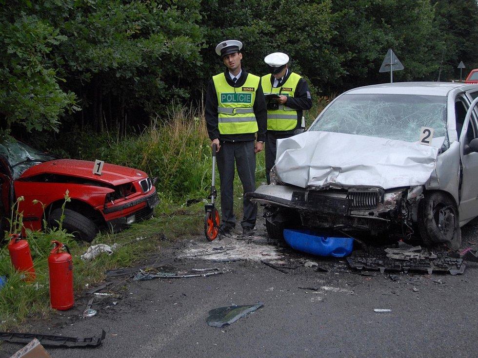 Dopravní nehoda u Polánek