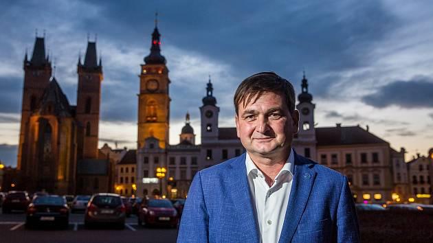 Hejtman Královéhradeckého kraje Martin Červíček.