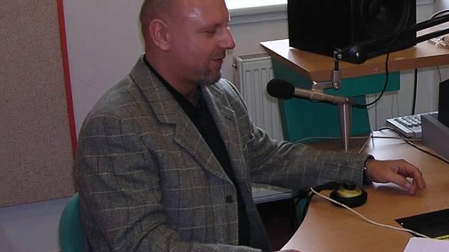 Ředitel hradeckého rozhlasu Jiří Kánský