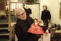 Lenka Dedeciusová je sběretelkou panenek.
