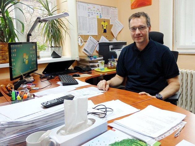 Martin Scháněl, ředitel Domova důchodců Černožice.