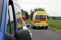 Dopravní nehoda u Smiřic