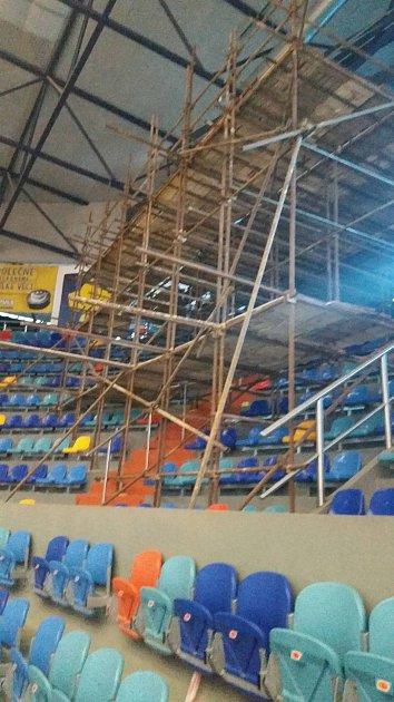 Skyboxy na stadionu vHradci Králové