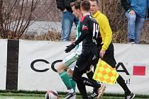 Zimní fotbalová Tipsport liga: Bohemians 1905 - FC Hradec Králové.