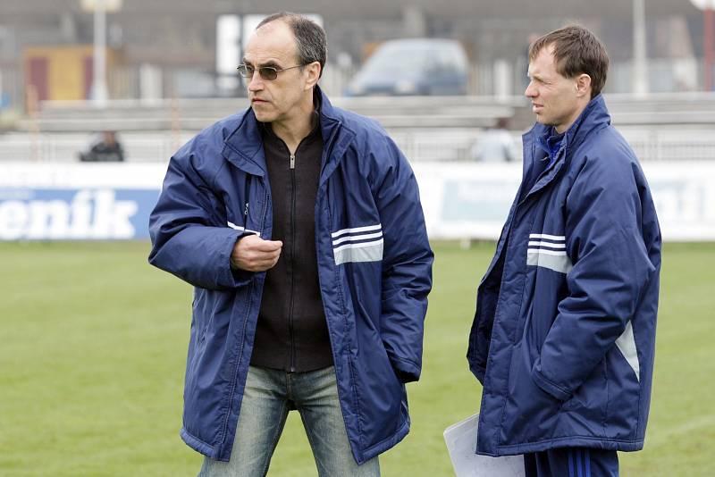 Trenéři Václav Kotal a Michal Šmarda