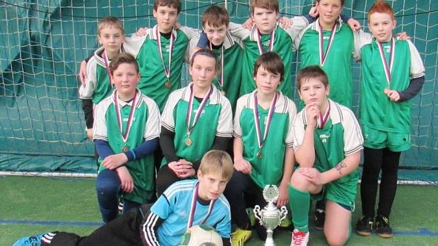 TJ Sokol Třebeš - vítězové turnaje mladších žáků.