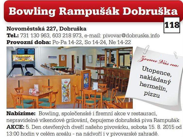 Bowling Rampušák Dobruška