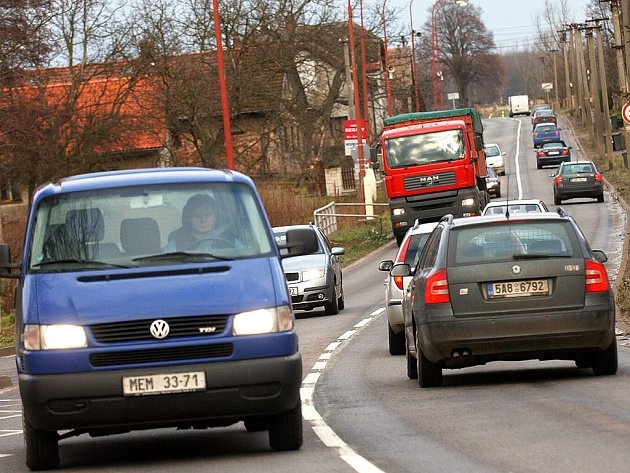 Přetížené silnice v obcích
