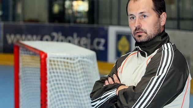 Jiří Mička, trenér HC Vces Hradec Králové.