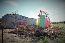 Nová galerie pod širým nebem nese název Mokrá louka a najdete ji u odbočky na Divec.