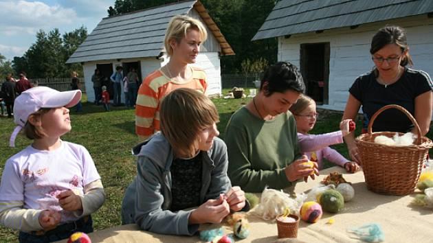 Podorlický skanzen Krňovice, Den vlny a lnu
