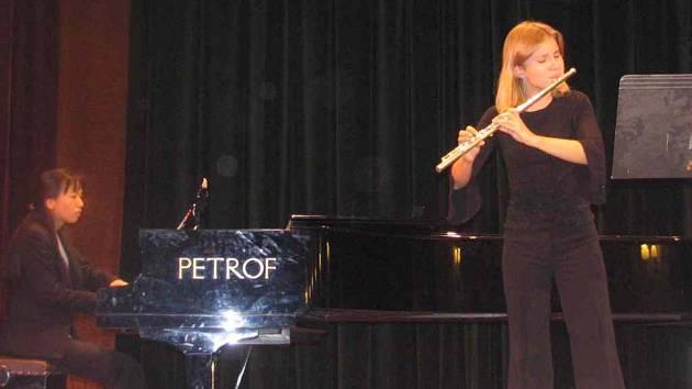 Flétnistka Gita Nováková