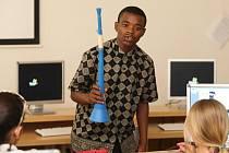 'Šampioni pro Afriku', projekt, kde se evropské děti seznamují s životem svých vrstevníků v Africe.