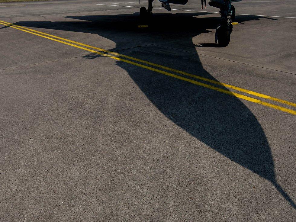 Z královéhradeckého vojenského letiště v rámci akce CIAF.