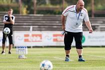 Fotbalová národní liga: FC Hradec Králové - SK Dynamo České Budějovice.