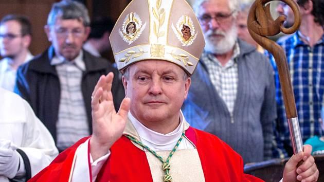 Jan Vokál, biskup královéhradecký.