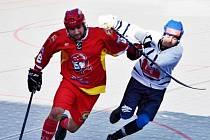 Hokejbalisté Hradce budou usilovat o finále play off extraligy.
