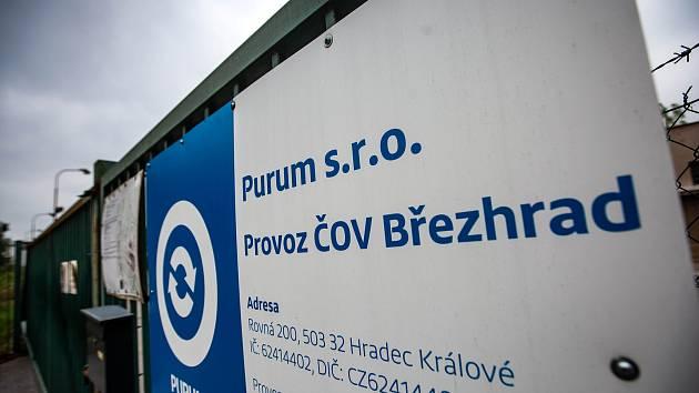 Čistička odpadních vod Březhrad.