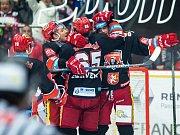 Tipsport extraliga ledního hokeje: Mountfield HK - BK Mladá Boleslav.
