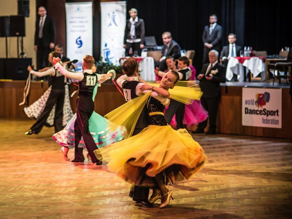 Taneční soutěž Hradec Králové Open - WDSF International Open.