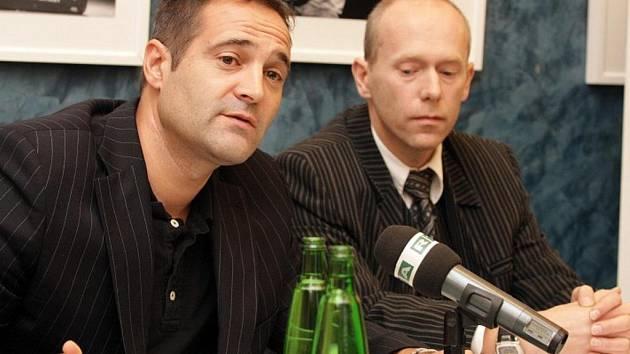 Výkonný ředitel RTA Pavel Zuna na tiskové konferenci.