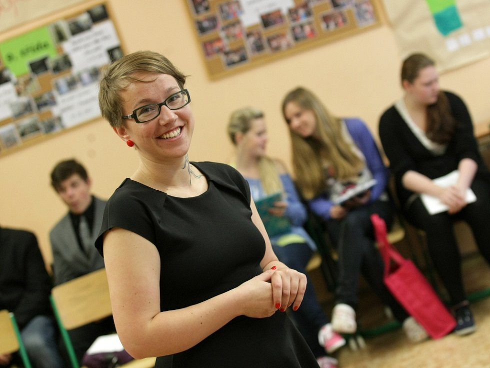 Eva Humlová, učitelka z hradecké ZŠ Pouchov.