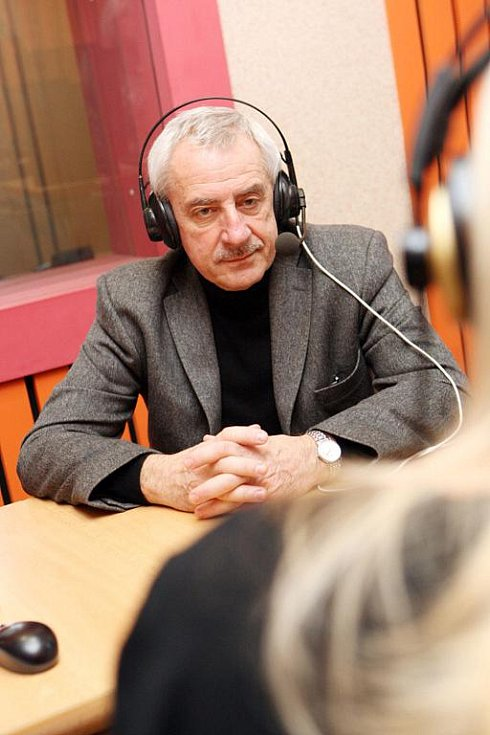 Ministr zdravotnictví Leoš Heger v Českém rozhlase