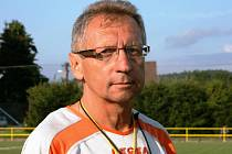 Trenér Josef Košátko.