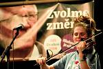 Koncert na podporu Jiřího Drahoše v hradeckém Adalbertinu. Na pódiu se vystřídaly osobnosti z řad umělců, politiků a akademiků.