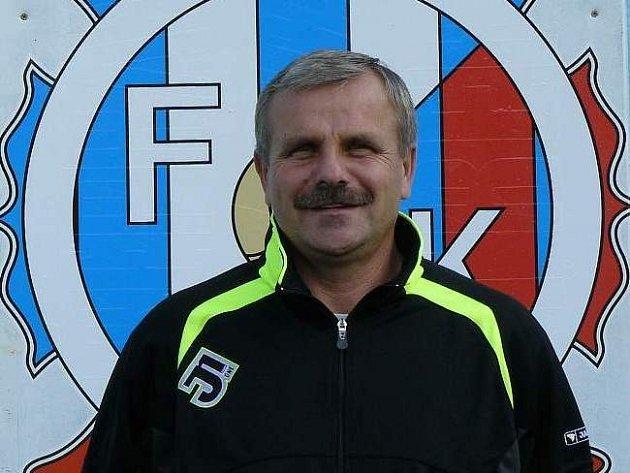 Trenér FC Náchod - Deštné Karel Krejčík