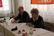Na sobotní krajské konferenci ČSSD v Hradci Králové na Střelnici byla na další dva roky zvolena předsedkyní krajské organizace poslankyně Hana Orgoníková.