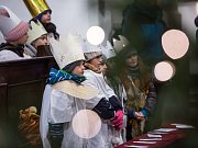 Žehnání třem králům v katedrále sv. Ducha.